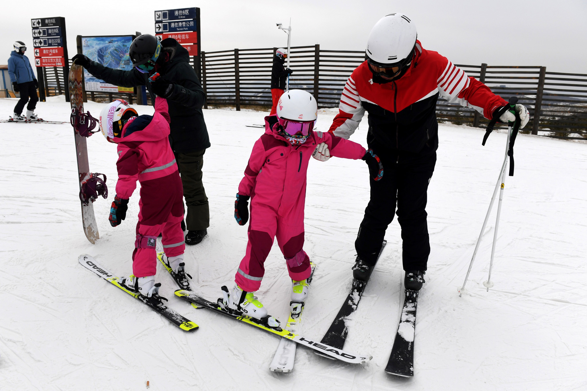 Ecole Française de Ski has opened a ski academy with Club Med to help capitalise on the opportunity offered by Beijing 2022 ©Getty Images