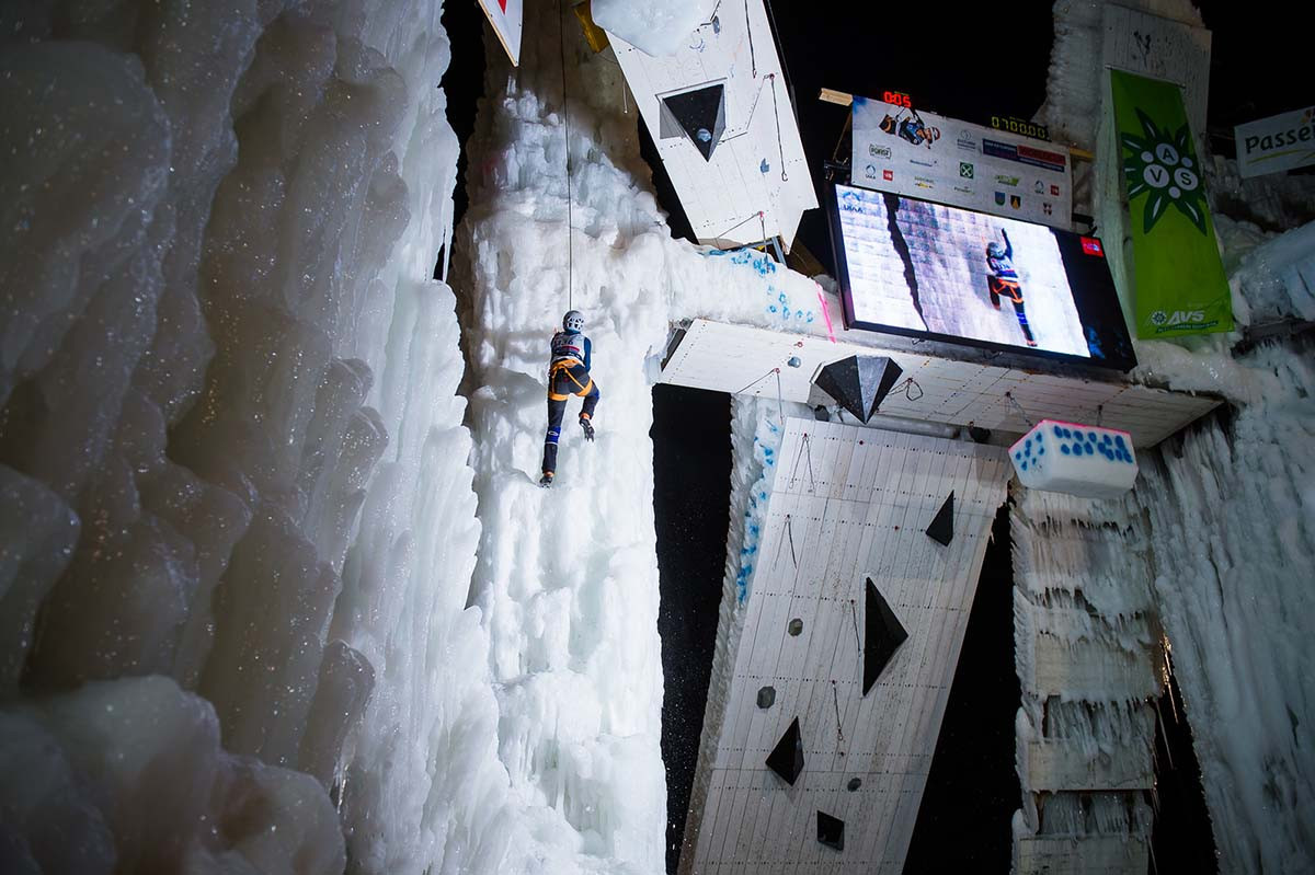 UIAA Ice Climbing World Cup tour set to continue in Rabenstein