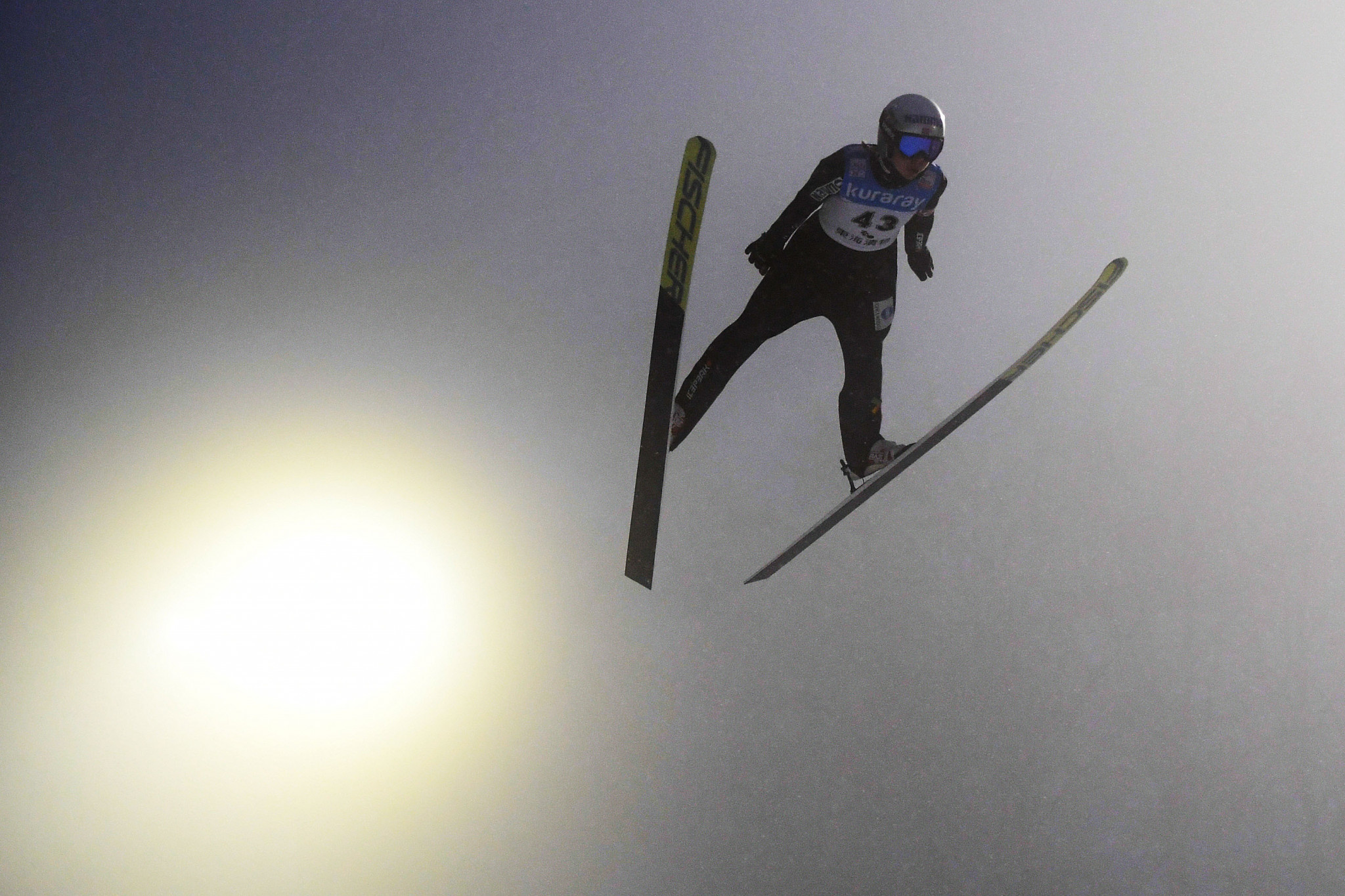 Maren Lundby topped qualifying at the women's event in Hizenbach ©Getty Images