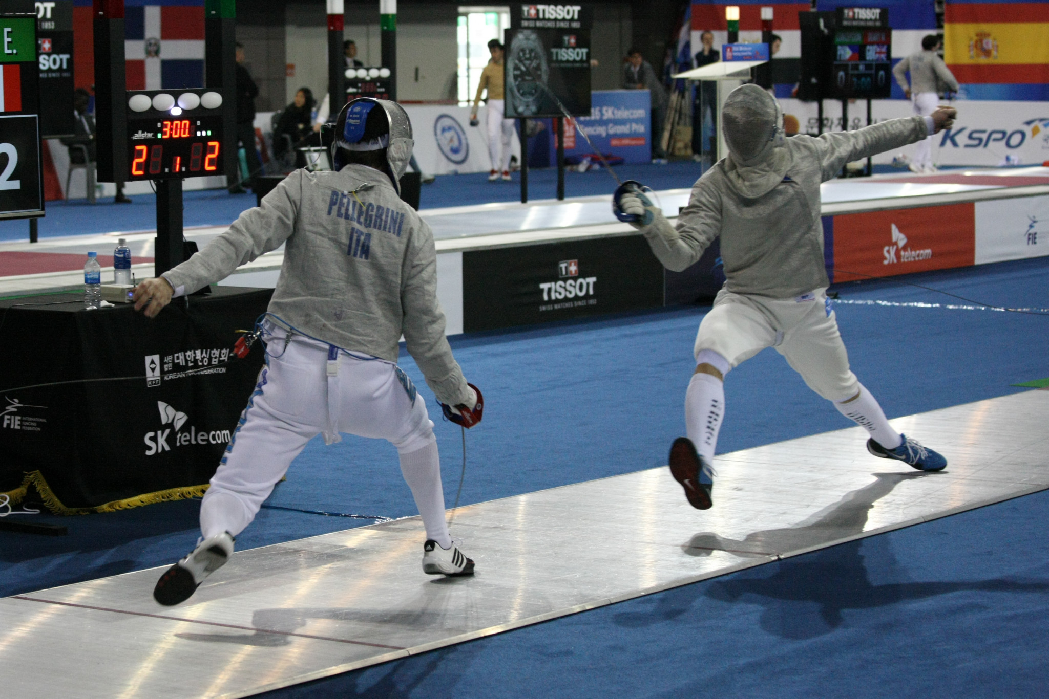 France's Barloy sets up encounter with top seed at FIE Men's Sabre World Cup in Warsaw