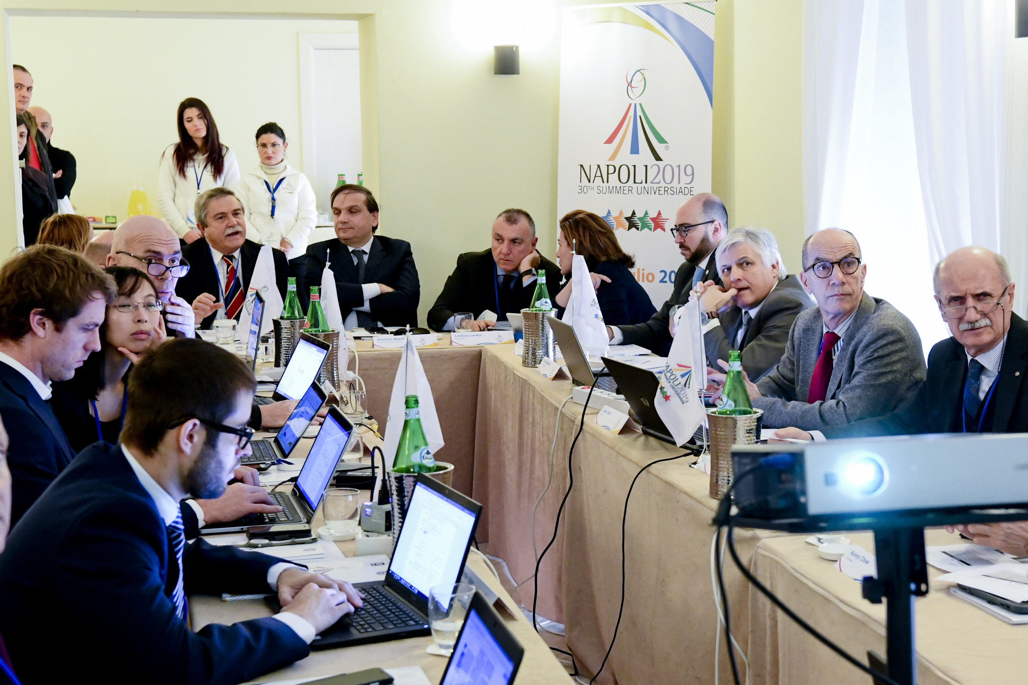 Head of Summer Universiade Supervision Committee praises Naples 2019 progress but warns challenges remain