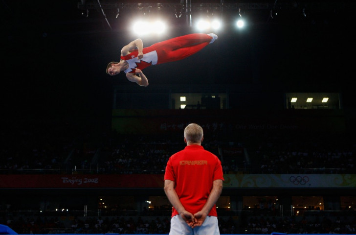 Trampolinist Jason Burnett insists it's only fitting that the Maple Leaf has been incorporated into the kit