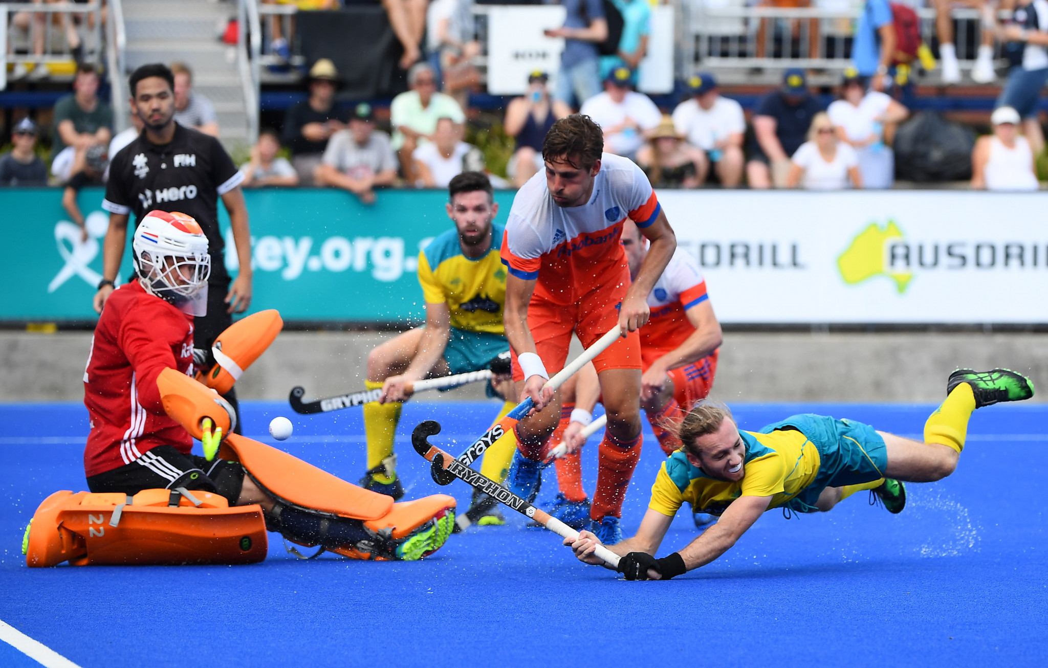 Netherlands claim dramatic win over hosts Australia in men's FIH Pro League