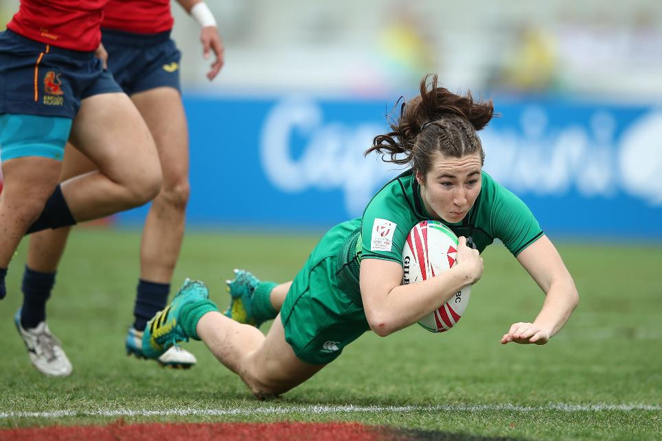 Ireland progressed to the semi-finals for the first time after they beat Spain ©World Rugby