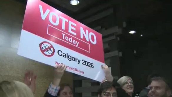 Calgary joined a long list last year of cities to vote against hosting the Olympic and Paralympic Games ©Twitter