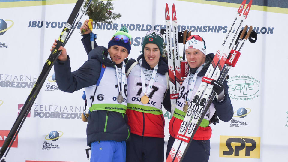 Norway win first junior gold at IBU Youth/Junior World Championships as Soerum wins junior men's sprint