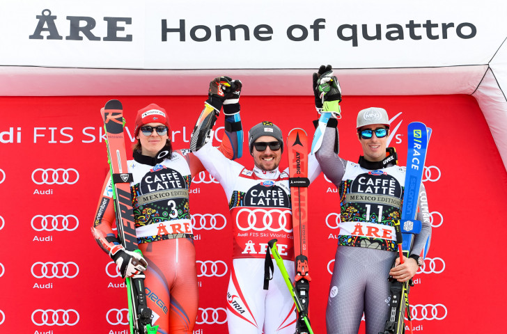 Winter Olympic and Paralympic Games 2026 candidate Åre, which hosted last year's FIS Alpine World Cup finals, has a further chance to impress as it stages the World Championships this week ©Getty Images