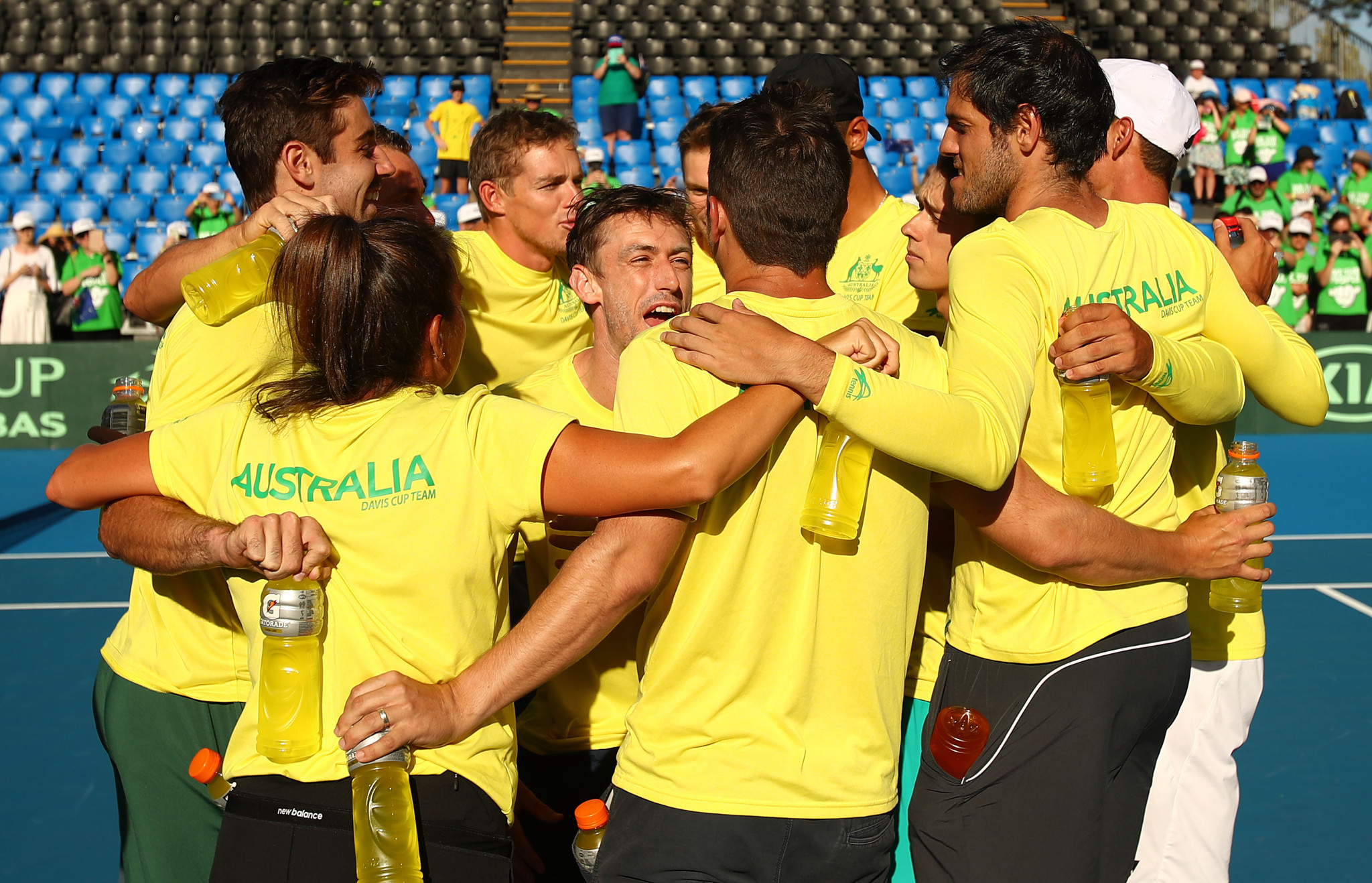 Australia among nations to book their place in Davis Cup Finals as qualifiers end