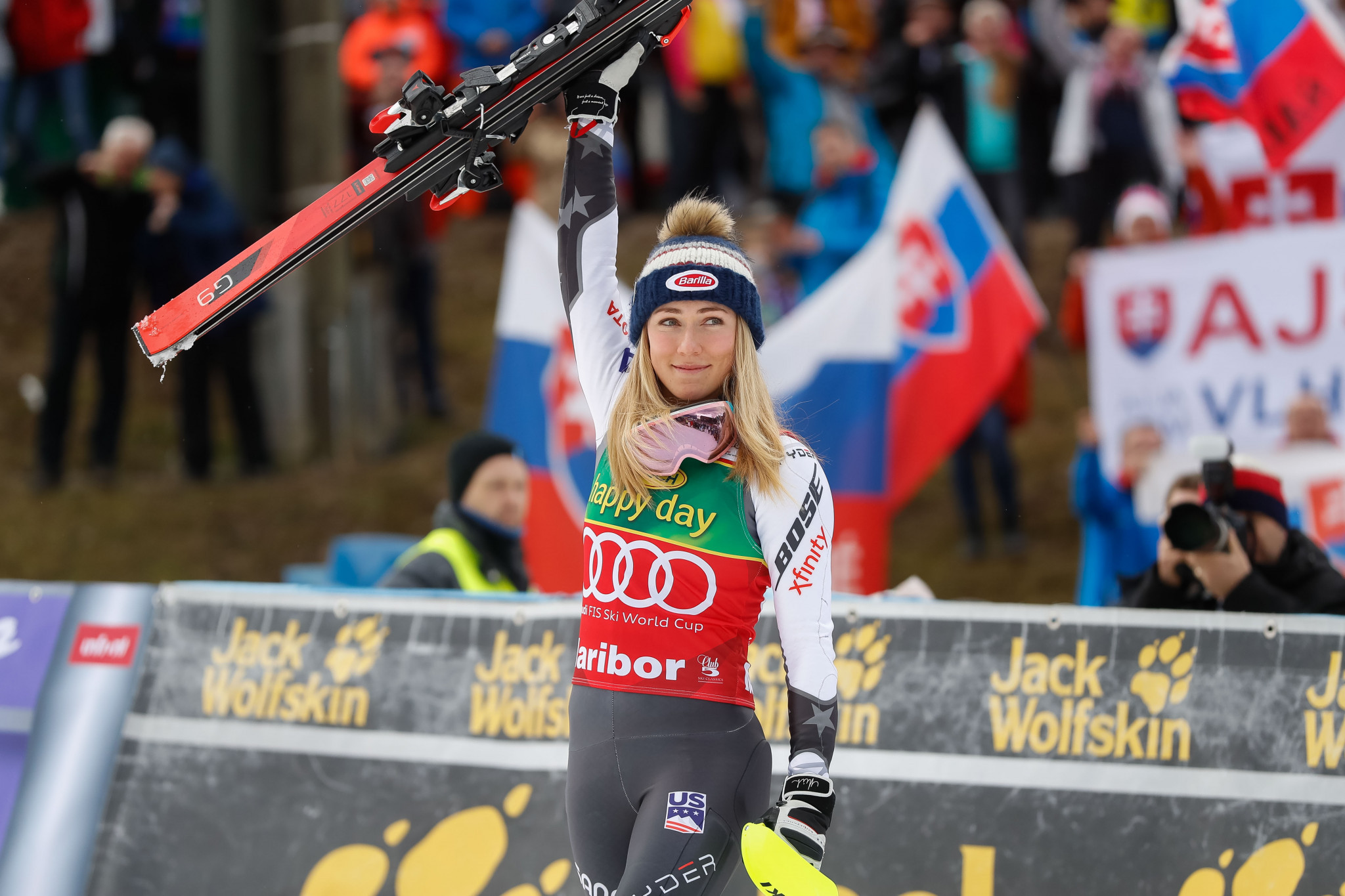 Mikaela Shiffrin was in commanding form in the last event before the World Championships ©Getty Images