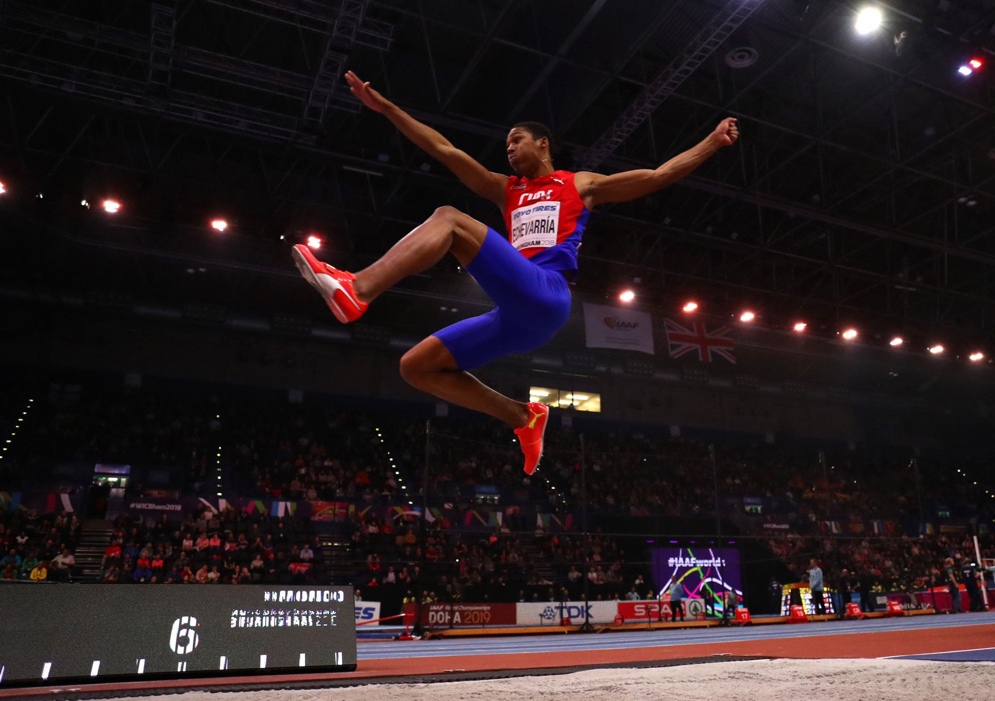 Echevarria loses men's long jump on count back at IAAF World Indoor Tour in Karlsruhe