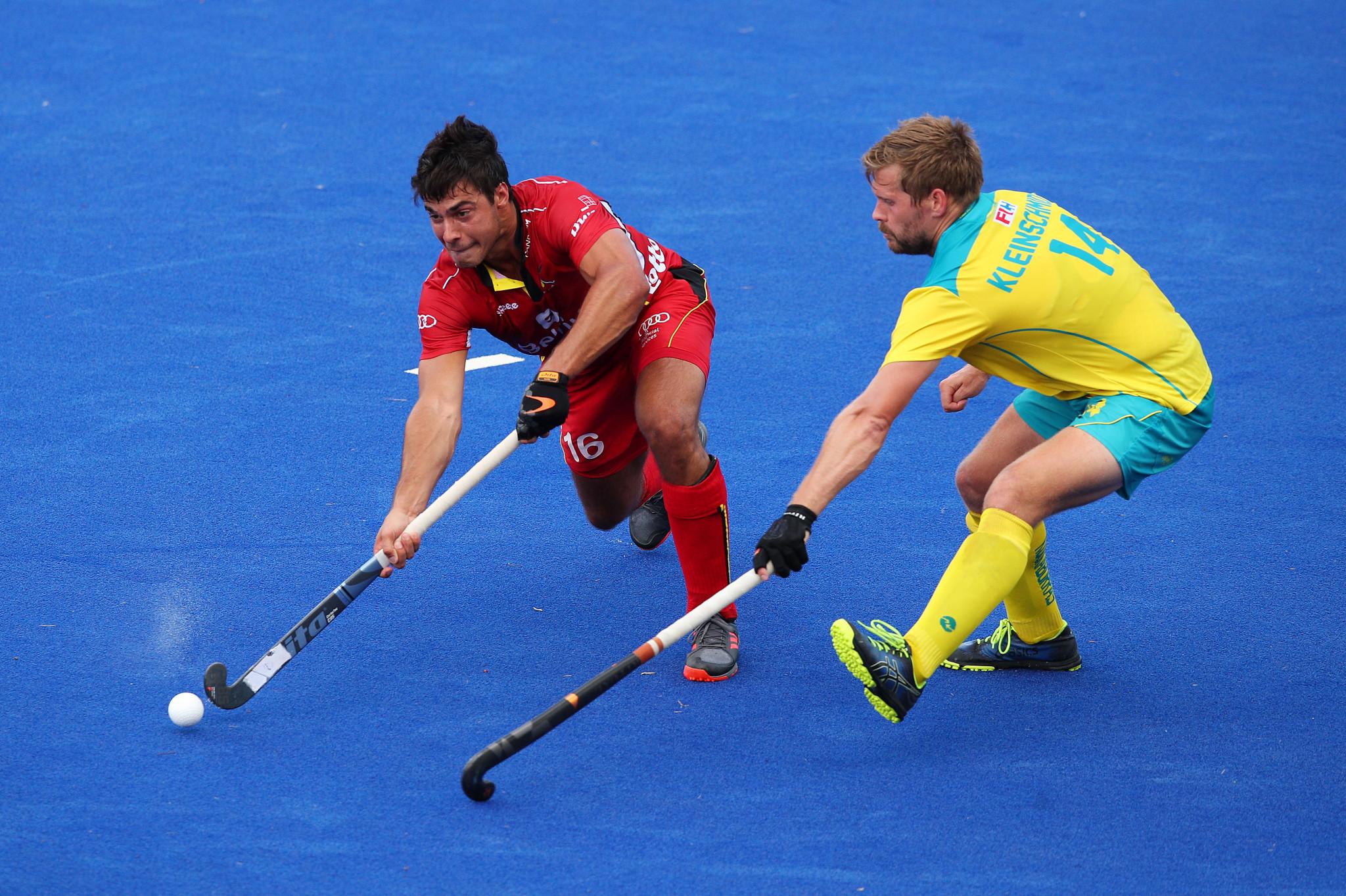 Belgium claim two victories against Australia in FIH Pro League