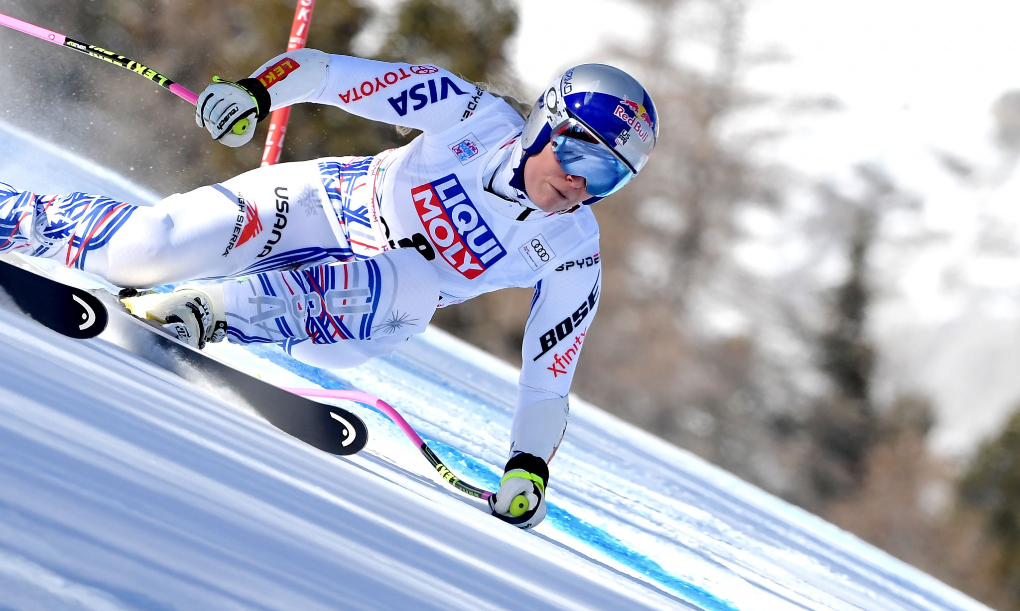 Lindsey Vonn will end her successful career at the FIS Alpine Ski World Championships in Åre @Getty Images