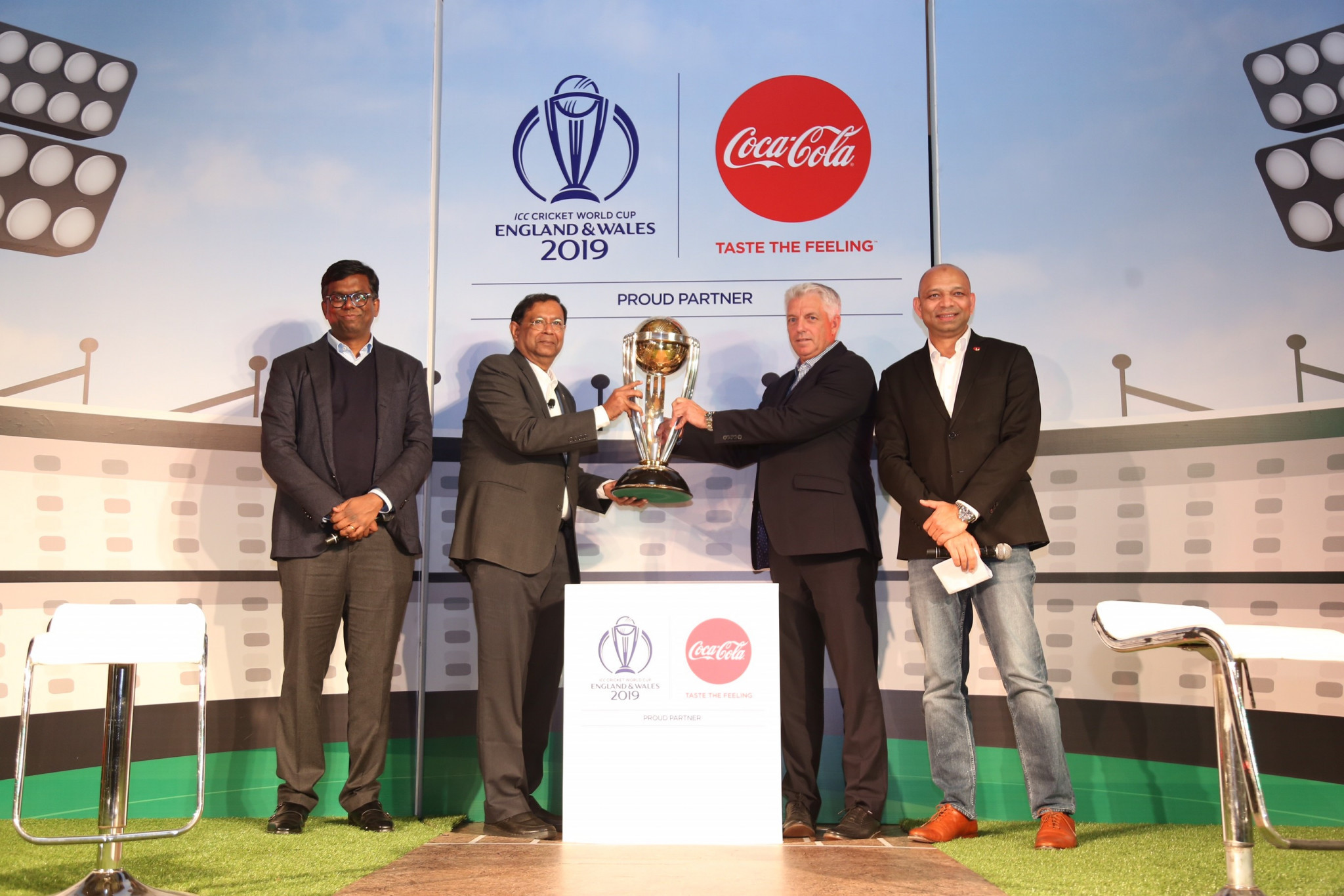 The ICC and Coca-Cola have signed a five-year global strategic partnership ©ICC