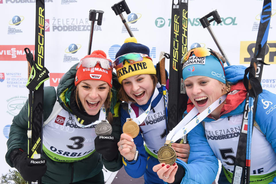 Two golds in two days for both Soerum and Bekh at IBU Youth/Junior World Championships