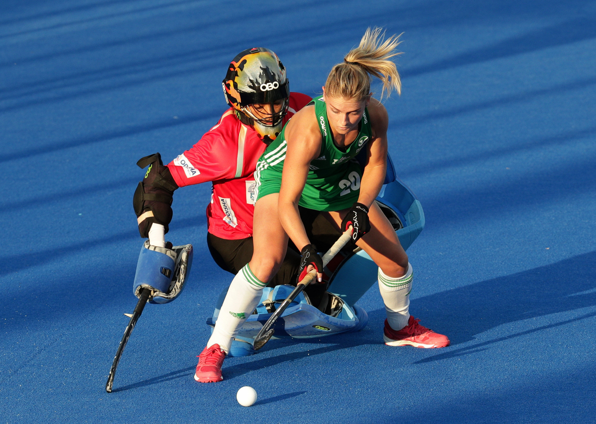 Ireland's hockey teams are enjoying unprecedented success at the moment and its women's team reached the final of the FIH World Cup in London last year ©Getty Images