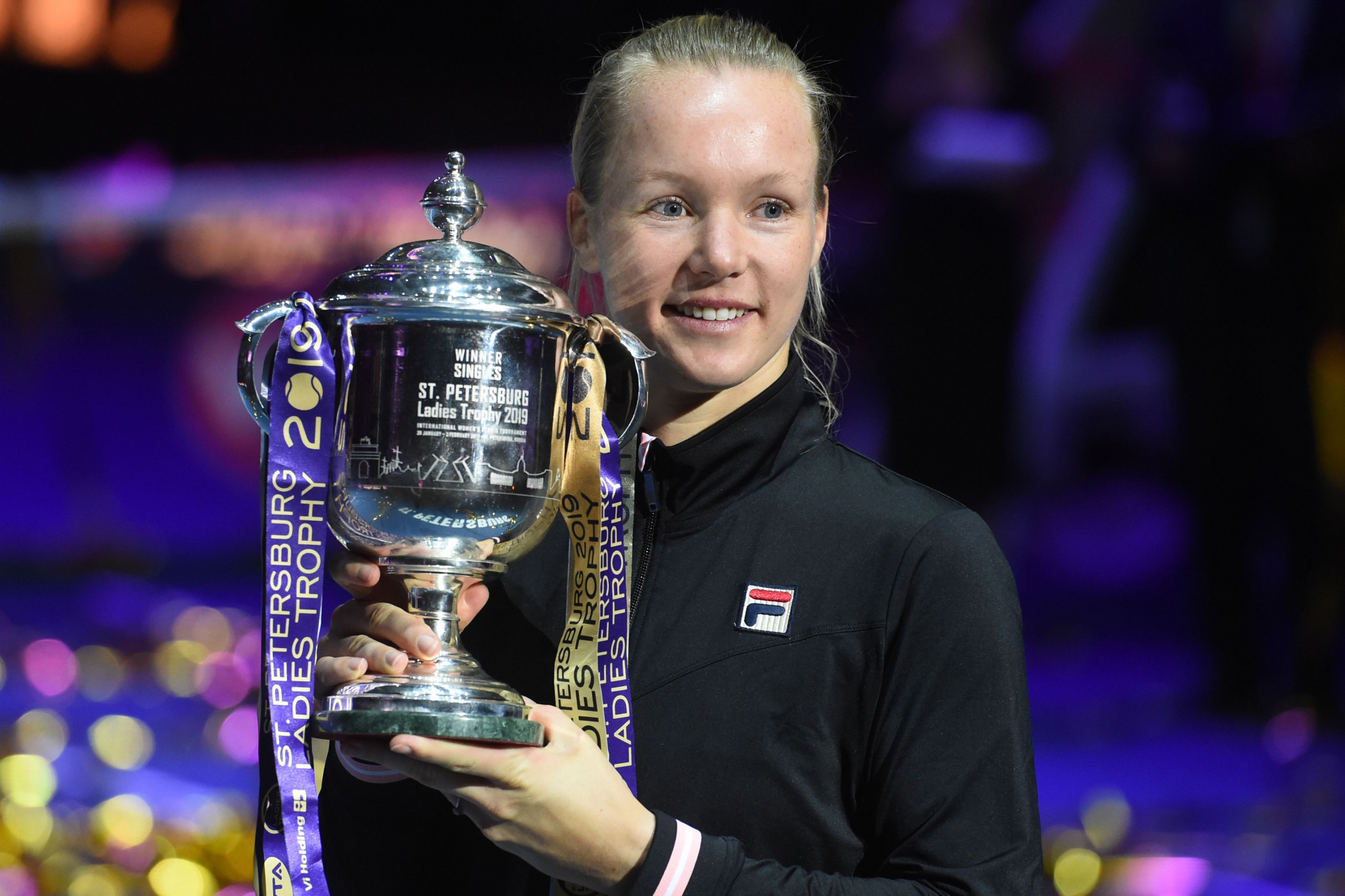 Dutch second seed Kiki Bertens secured her eighth WTA singles title in St Petersburg ©Getty Images