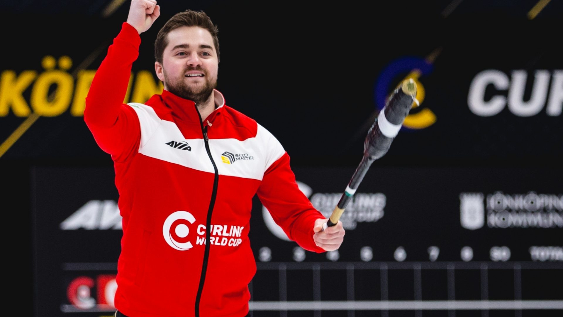 Canada and South Korea defeat home favourites Sweden to win men and women's finals at Curling World Cup in Jönköping
