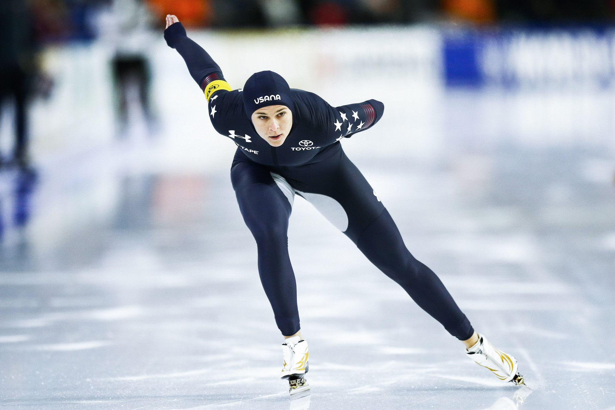 Bowe wins second gold of ISU Speed Skating World Cup in Hamar