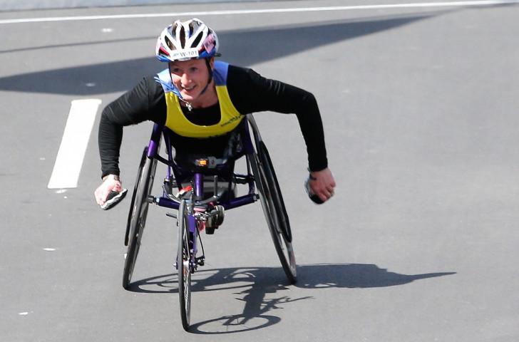Marathon world champion McFadden among contenders for IPC Athlete of the Month