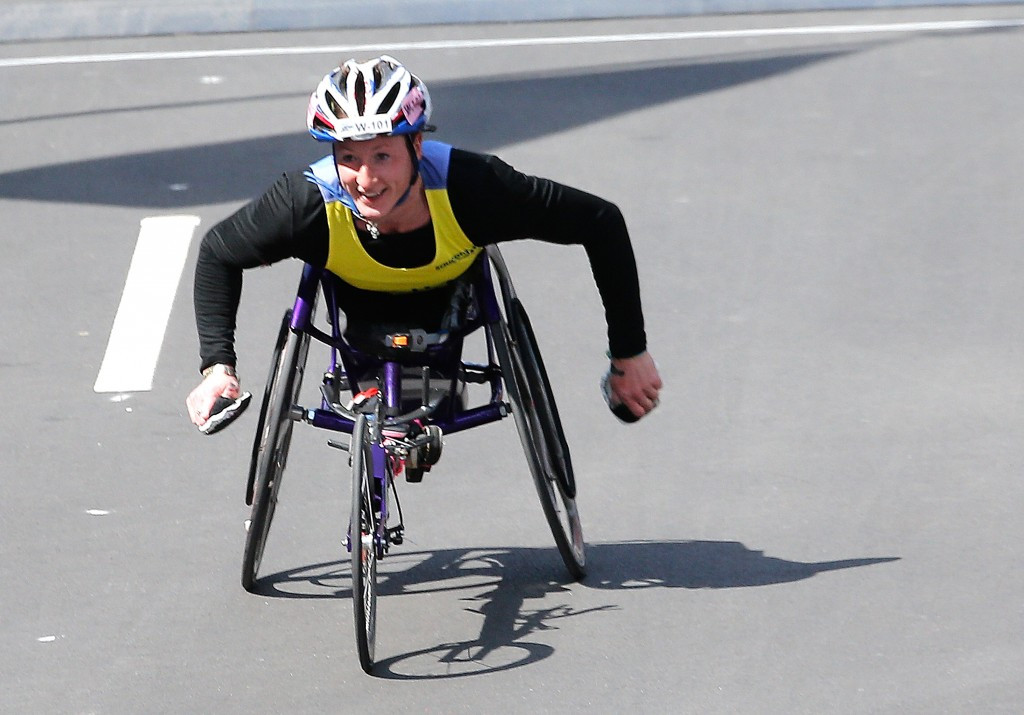 Tatyana McFadden will lead a hefty Paralympic presence at the summit with six months to go ©Getty Images