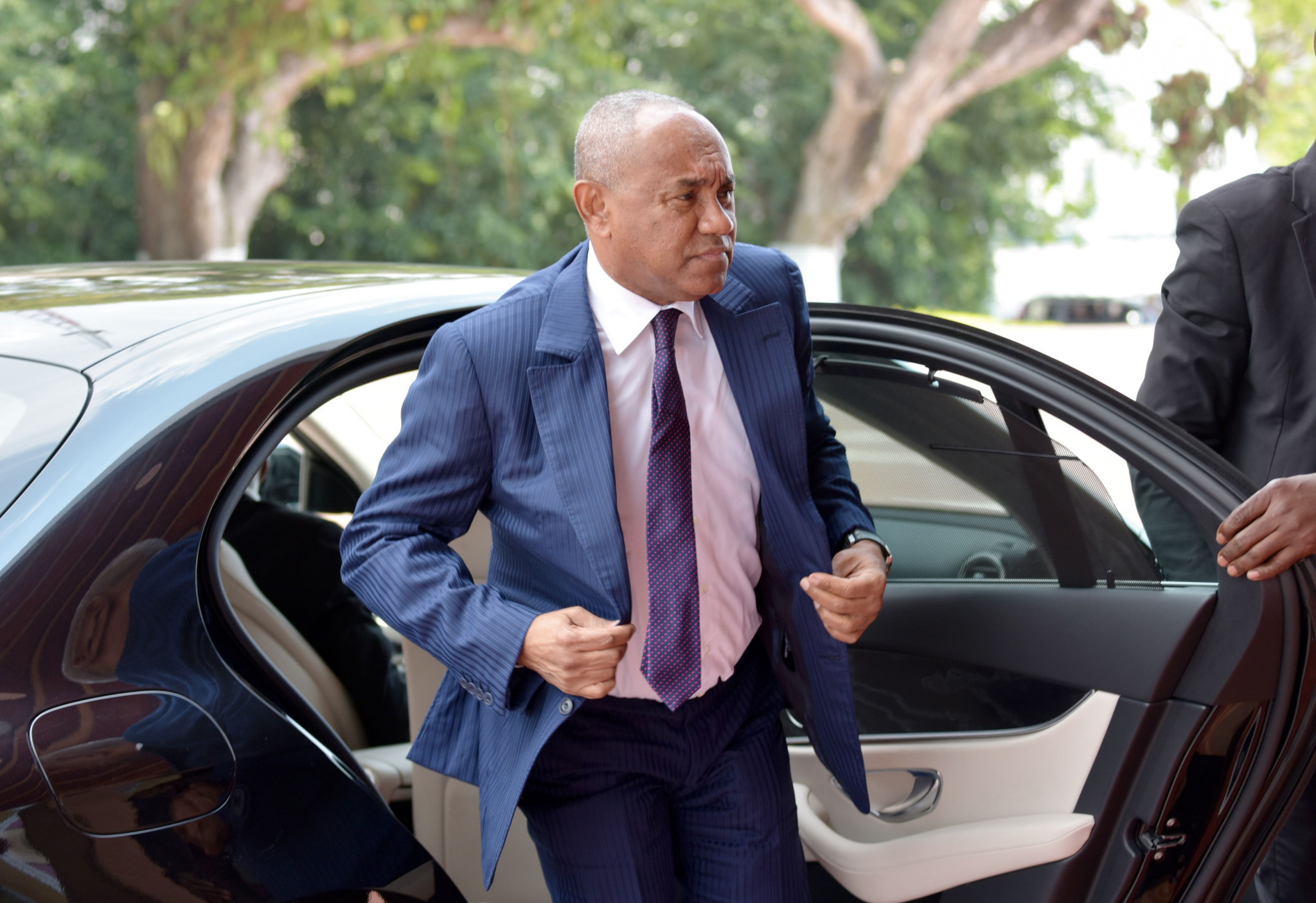 Musa Bility made several accusations against CAF President Ahmad in the letter ©Getty Images