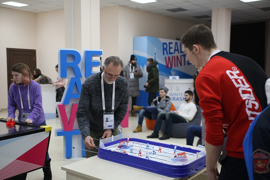 Volunteers test 2019 Winter Universiade Athletes' Village facilities in Krasnoyarsk