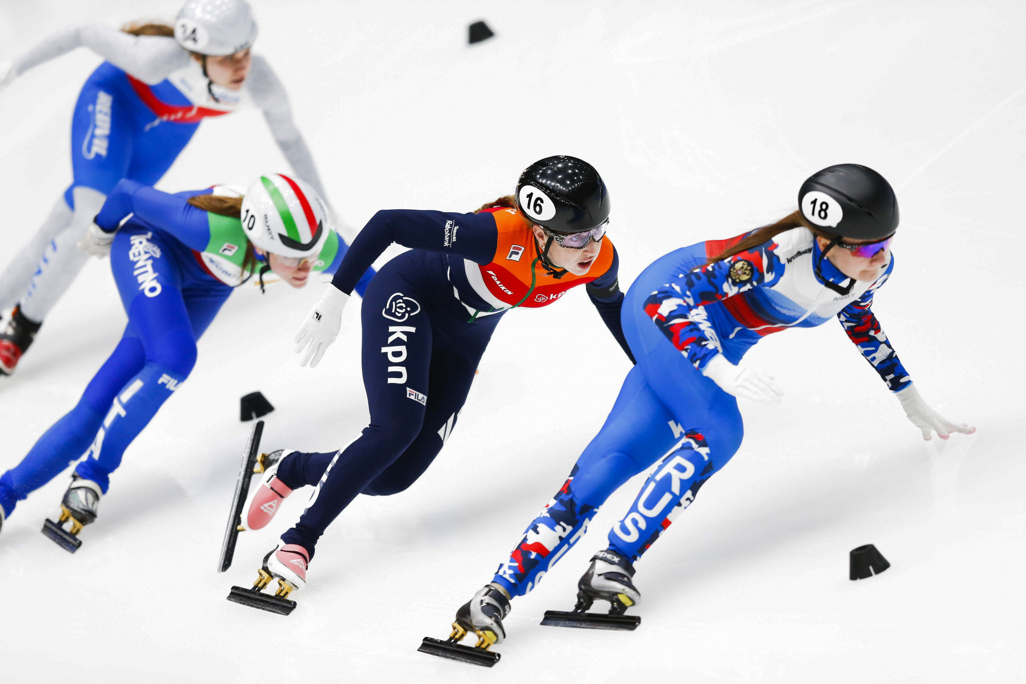 The agreements includes World and European Championships across disciplines governed by the ISU ©Getty Images