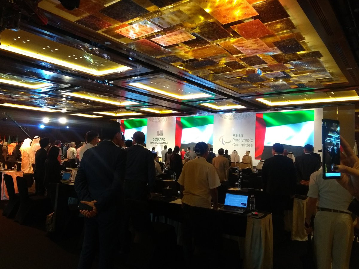 Asian Paralympic Movement gathered in Dubai for fifth General Assembly