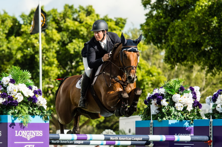 Granato seals first FEI Jumping World Cup win in Wellington