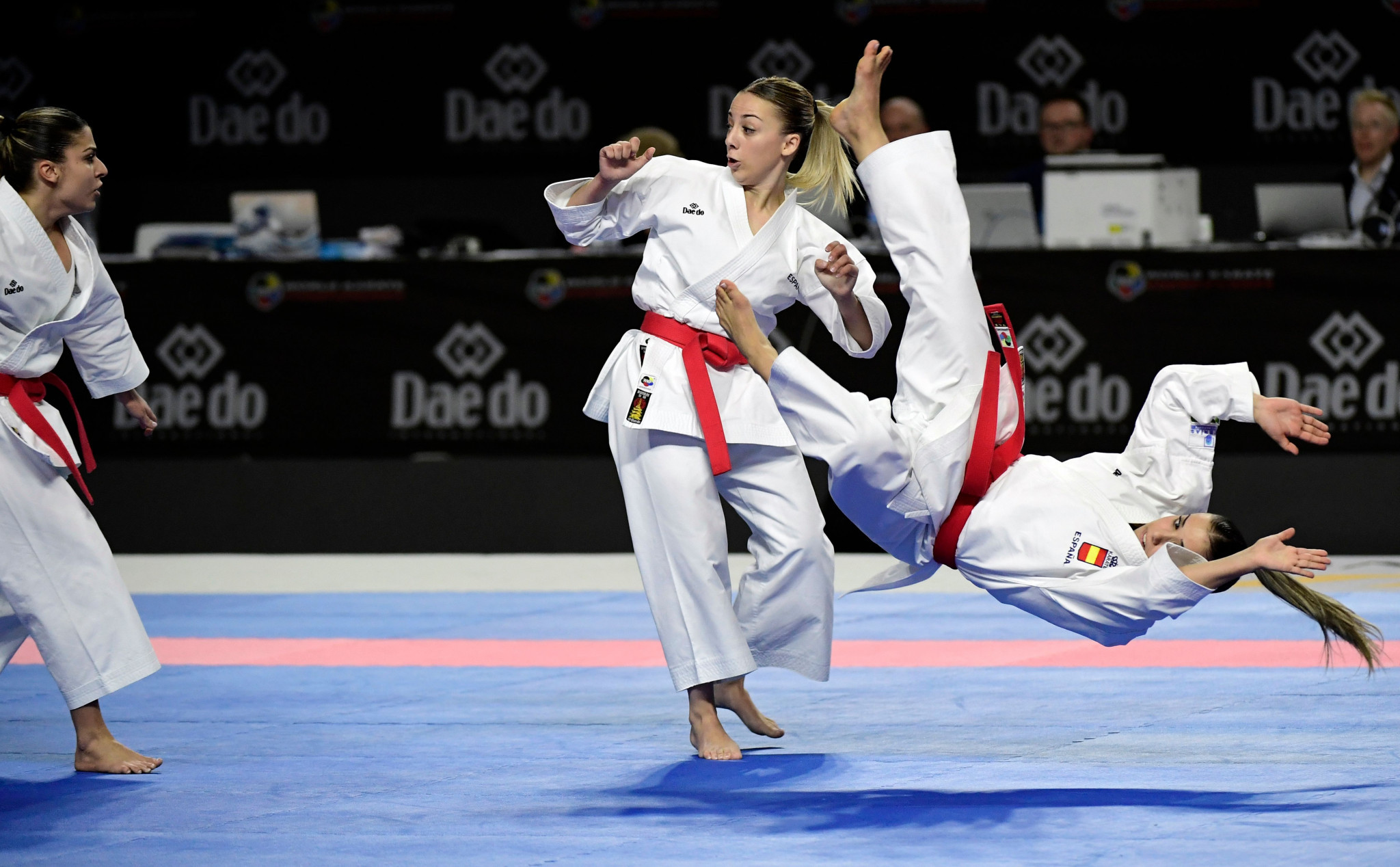 Karate and the four other sports added to Tokyo 2020 are hoping to keep their place on the programme for Paris 2024 ©Getty Images