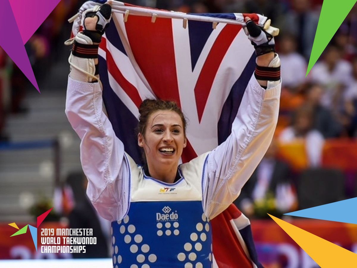 Great Britain's Bianca Walken has expressed her optimism for claiming a third global crown in four years with exactly 100 days to go until the start of her home World Taekwondo Championships in Manchester ©GB Taekwondo