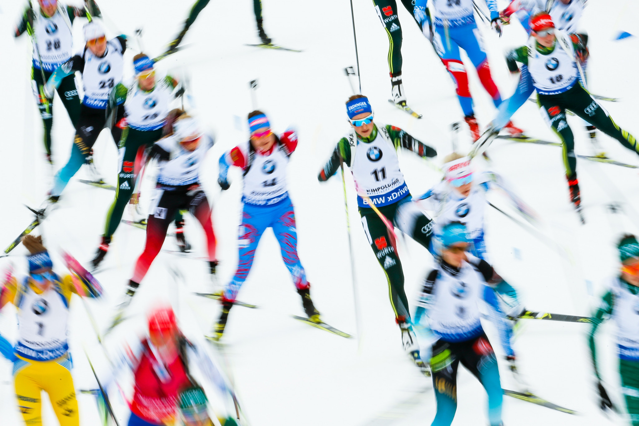 Biathlon has faced governance issues away from the action ©Getty Images