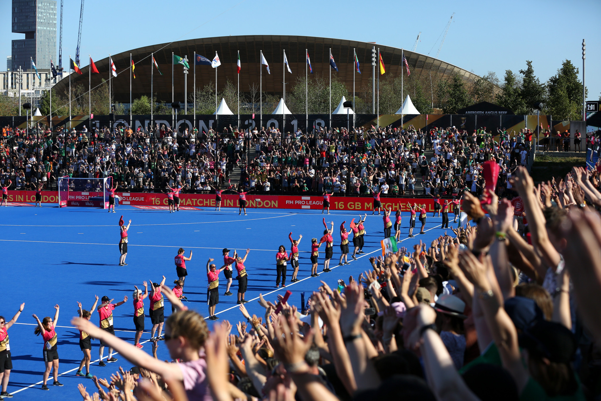 London hosted the FIH Women's World Cup last year - now bids are in to host the next versions for men and women ©Getty Images