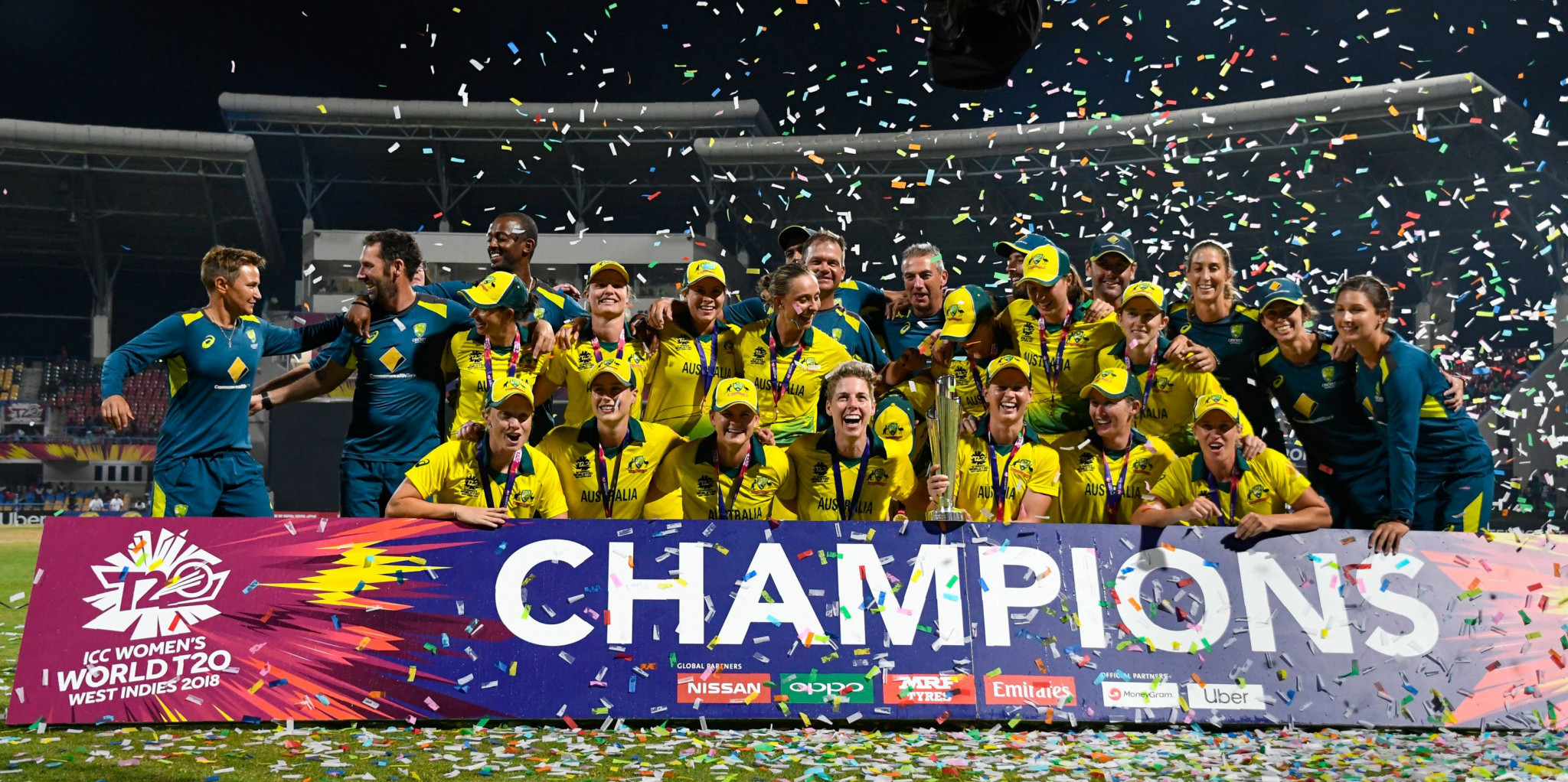 Hosts Australia will defend their ICC women's T20 World Cup title in 2020 with the lure of a final to be held at the Melbourne Cricket Ground on International Women's Day ©Getty Images