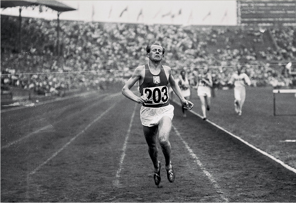 The brilliance of Emil Zatopek brought confusion  to the men's 10,000m in the simplified London Olympics of 1948 ©Getty Images