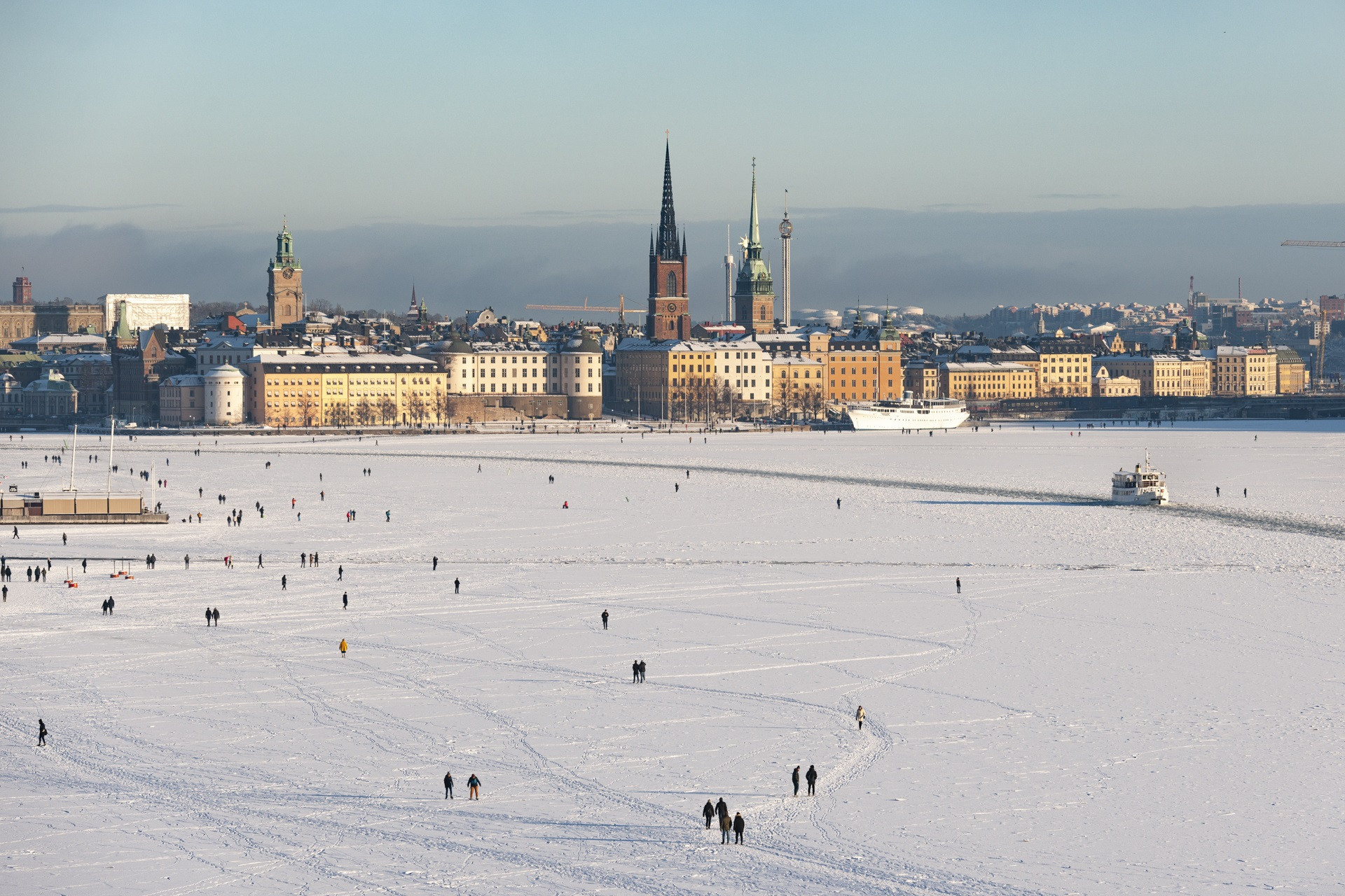 "Stockholm's offering as a winter sport destination has been described as ""unique"" with seven years to the day until the city hopes to open the 2026 Olympic Games ©Stockholm Åre 2026"