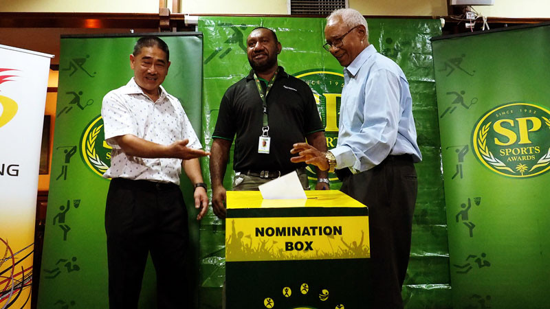 The Papua New Guinea Olympic Committee has asked the public to nominate athletes for this year's SP Sports Awards ©PNGOC