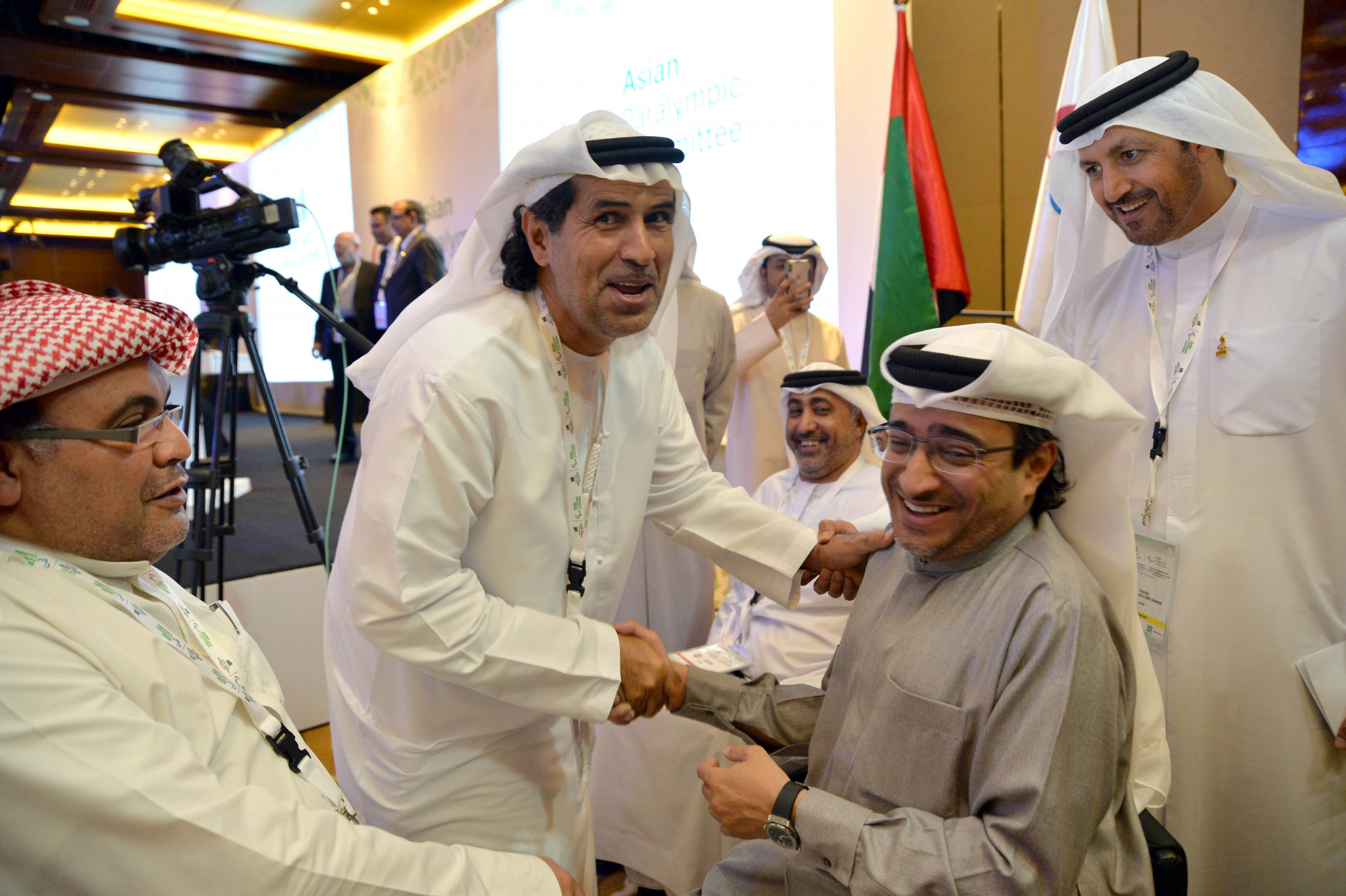 Rashed unanimously re-elected as APC President during General Assembly in Dubai