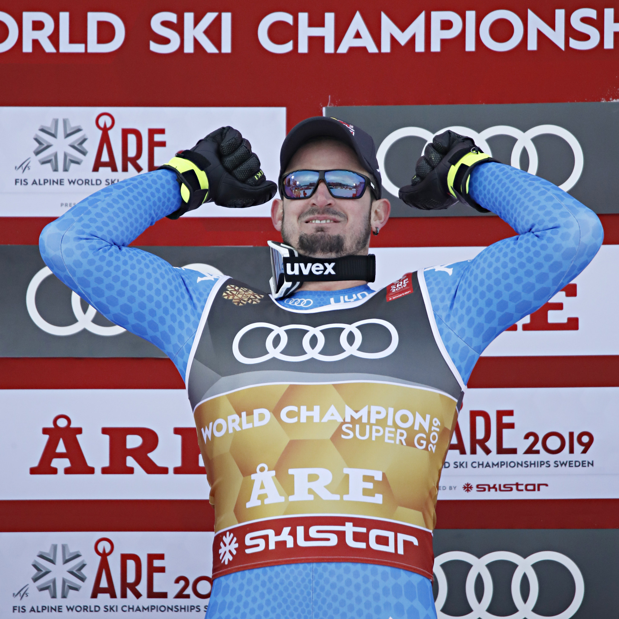 Paris wins men's super-G as Olympic champion Mayer fails to finish at FIS Alpine Skiing World Championships