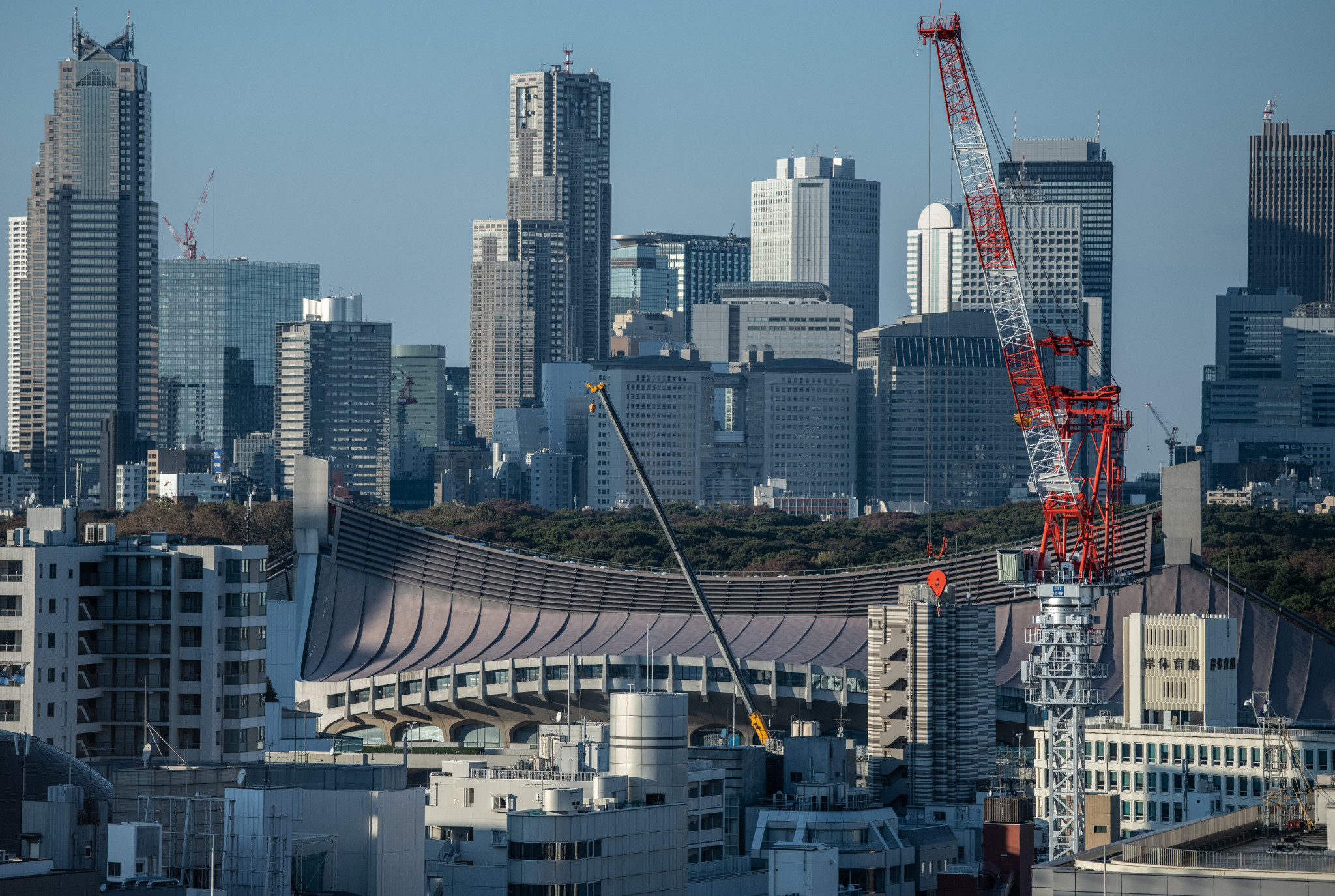 The Metropolitan Expressway will be used by many to move between venues during Tokyo 2020 ©Getty Images