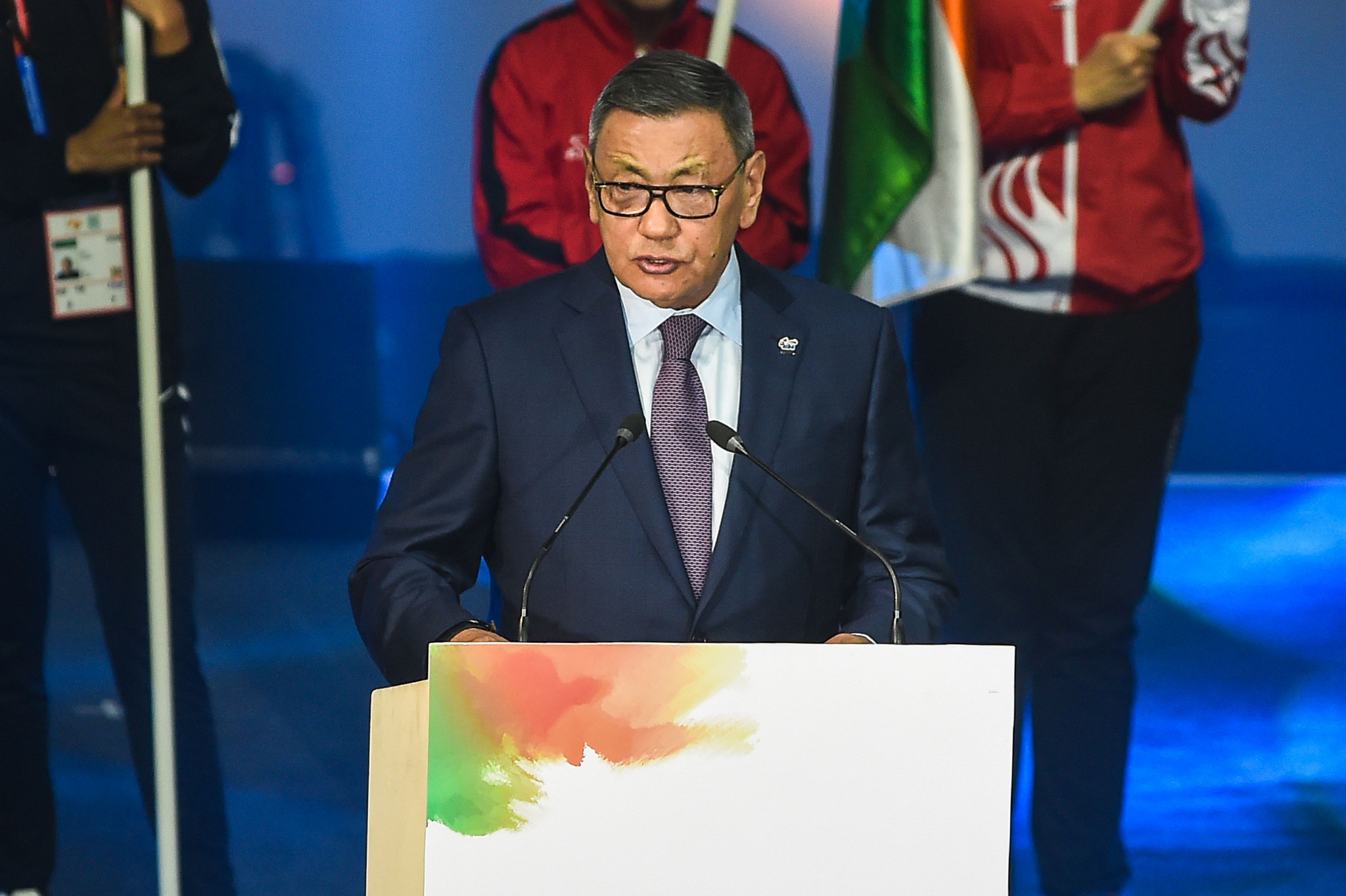 Gafur Rakhimov's election as AIBA President has resulted in widespread controversy ©Getty Images