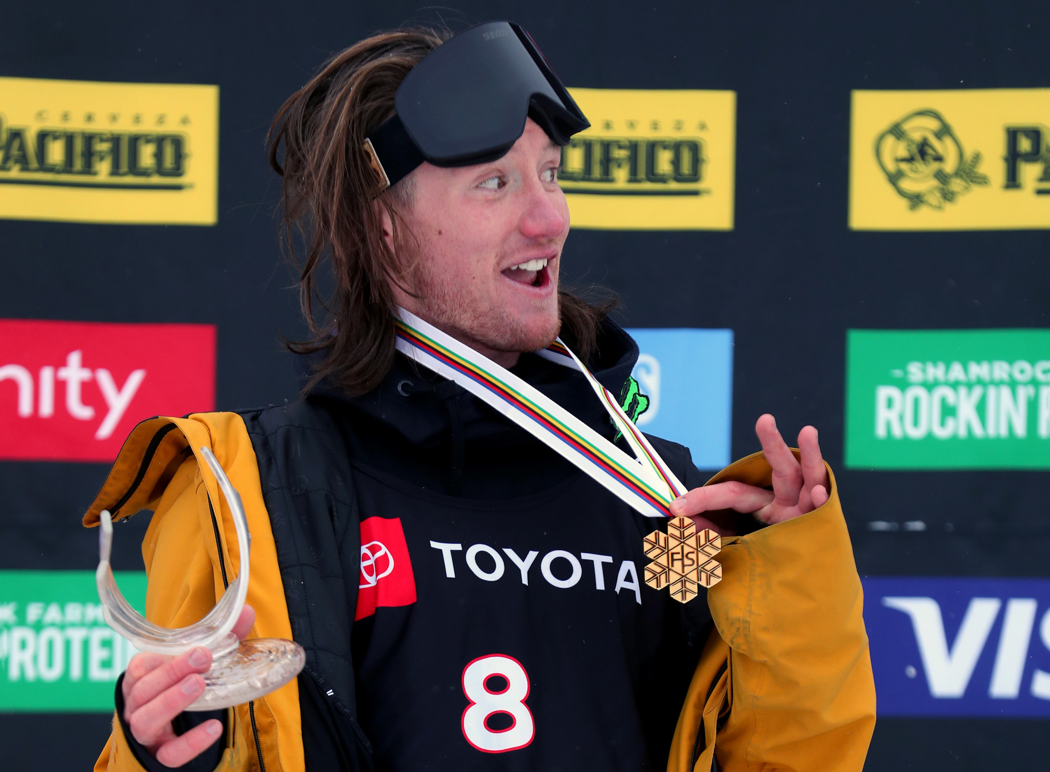 James Woods was crowned as ski slopestyle world champion ©Getty Images