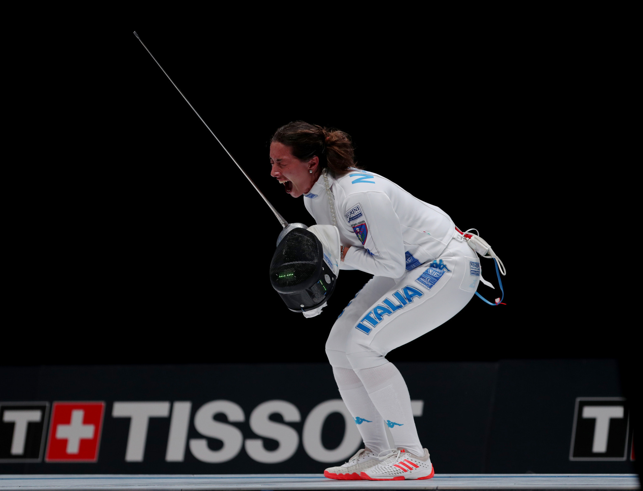 World champion and world number one Mara Navarria of Italy will be in women's épée action in Barcelona ©Getty Images