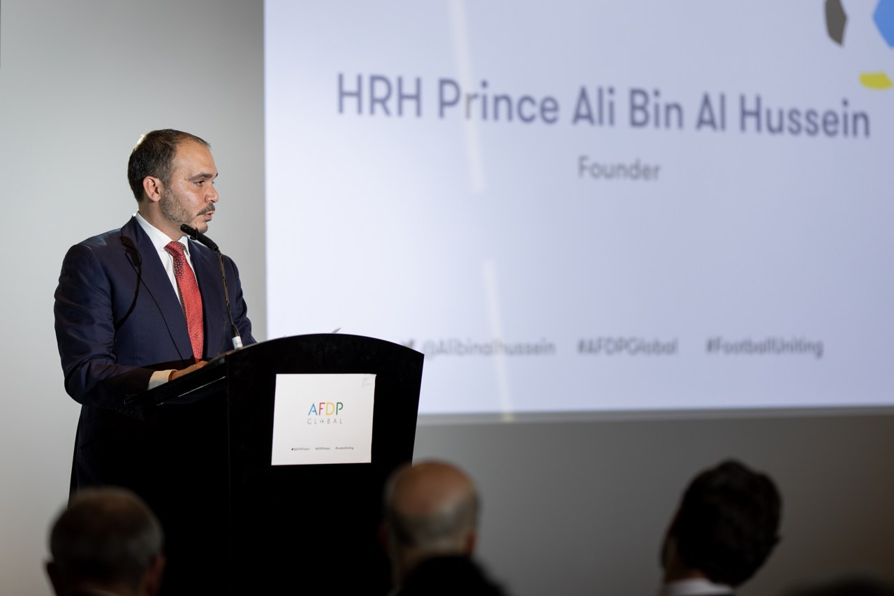 Prince Ali Bin-Al Hussein's AFDP Global held a round-table on the issue ©AFDP Global
