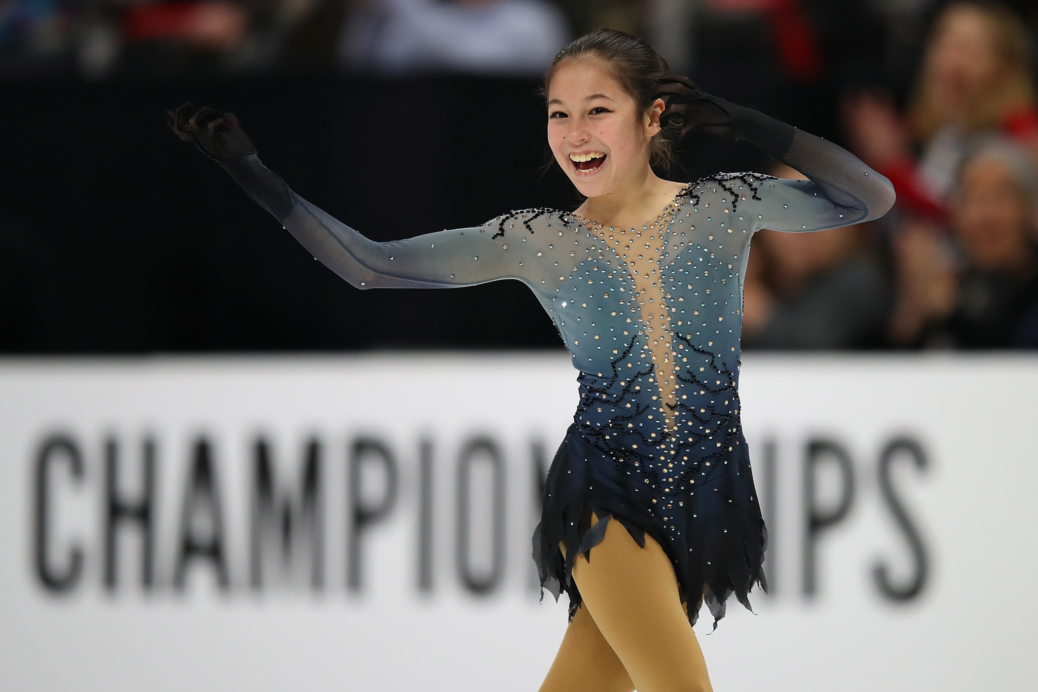 Alysa Liu made history as she became women's national champion ©Getty Images