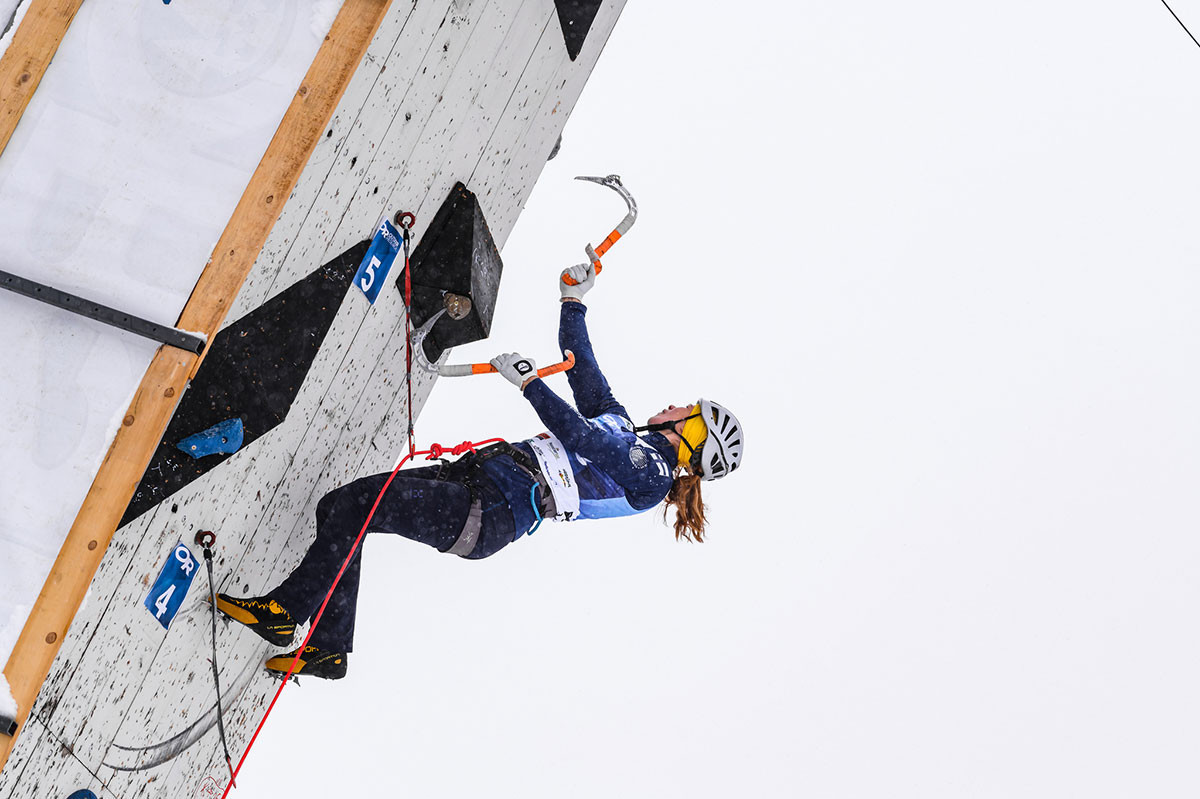 Champagny-en-Vanoise braced for penultimate round of UIAA Ice Climbing World Cup