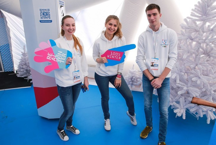 Krasnoyarsk 2019 volunteers enter latest phase of training before next month's Winter Universiade
