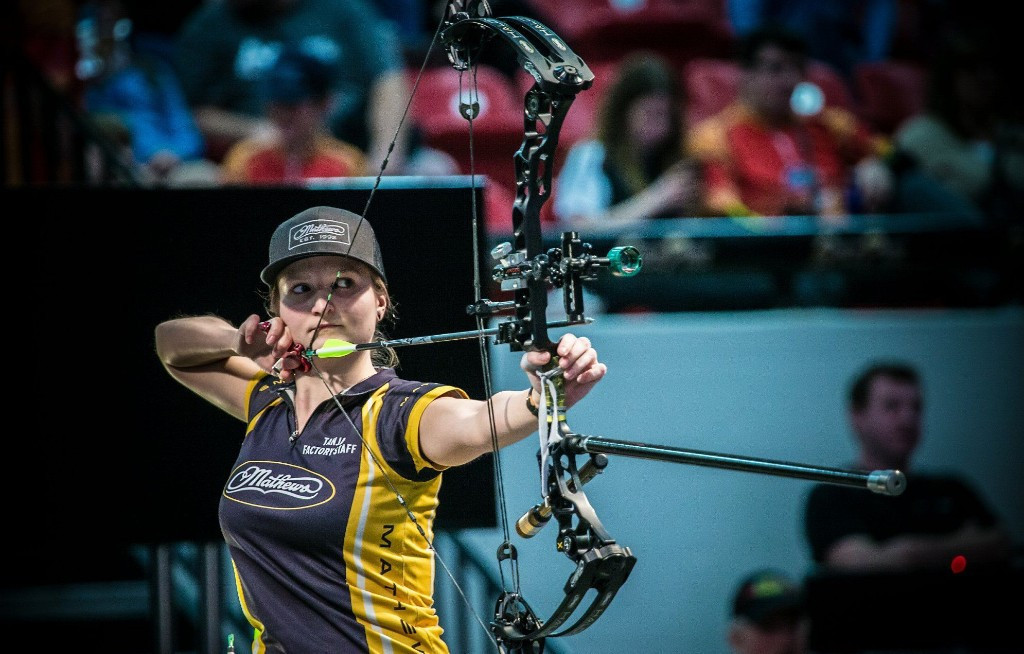 Denmark's Tanja Jensen will be looking to make her mark at the Vegas Shoot ©World Archery