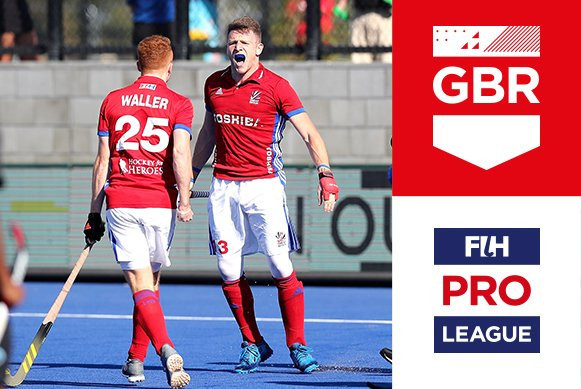 Mixed day for hosts New Zealand against Great Britain as FIH Pro League action continues
