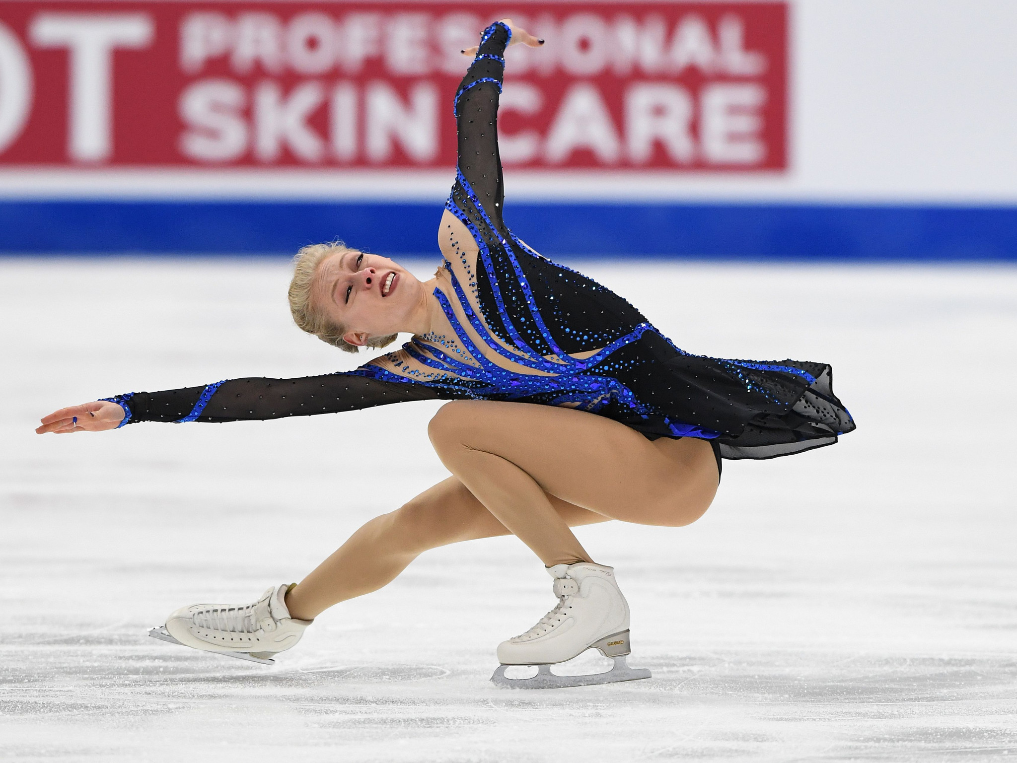 America's Bradie Tennell topped the women's short programme standings ©Getty Images